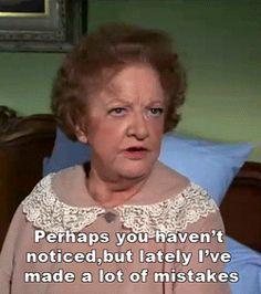 Marion Lorne played Aunt Clara.