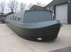 Tyler Wilson Boats offer elegant hulls, beautifully crafted by an experienced team; Barge Boat, Canal Barge, Boat Building, Building A House, Trailerable Houseboats, Canal Boat Interior, Homemade Go Kart, Water House, Boat House