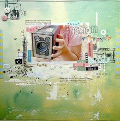 #papercraft #scrapbook #layout  By Magda aka Mumkaa