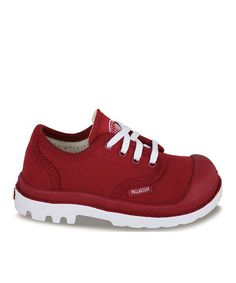 Love this Rio Red Pampa Blanc Oxford Sneaker by Palladium on #zulily! #zulilyfinds