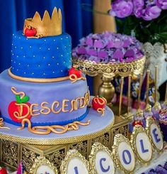 Descendants Cake