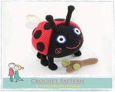 Amigurumi PATTERN Gaston The Ladybird Crochet par TatieSoftToys
