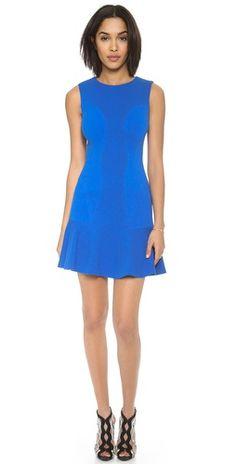 Diane von Furstenberg Jaelyn Drop Waist Dress | SHOPBOP