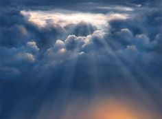Pix For > Heavenly Clouds Painting