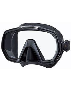TUSA Freedom Elite Mask - Black/Black