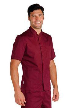 Scrubs Outfit, Scrubs Uniform, Men In Uniform, Mens Tunic, Stylish Scrubs, Staff Uniforms, Mens Designer Shirts, Nurse Costume, Medical Scrubs