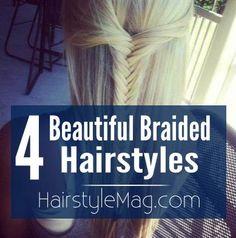4 Beautiful Braided Hairstyles