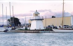 Isn't this cute? The shortest lighthouse I have ever seen, located on Lake Erie near Port Clinton, Ohio.