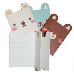 Sweet Animal Ears Notebook (4 Designs)