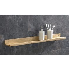 Solid Oak Bathroom Shelf is approx. Long, and comes supplied with all required fittings. This shelf matches all of our Oak Bathroom Basin Cabinets Oak Wall Shelves, Craft Shelves, Shelves For Sale, Bathroom Wall Shelves, Oak Shelves, Wall Mounted Shelves, Shelf Wall, Bathroom Storage, Bathroom Basin Cabinet