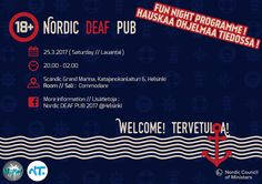 The tonight event's the poster, Nordic Youth Seminar 2017, in Helsinki.