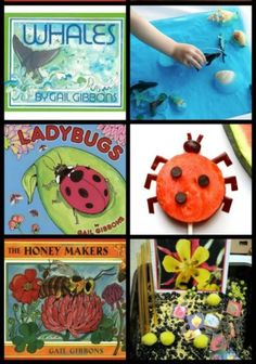 50+ Activities for Gail Gibbons Children's Books