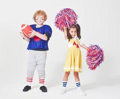 American Apparel KIDS Halloween- Football Player and Cheerleader