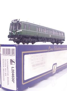 #LIMA L204630 - #OOGAUGE BR GREEN WHISKERS LIVERY CLASS 121  BUBBLE CAR   #RAILBUS W 55025