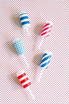 4th of July Sprinkle Fireworks | The Sweet Lulu Blog