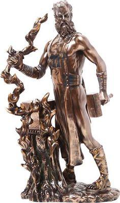 Bronze Hephaestus Statue