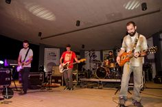 """La banda de postrock """"Kermit"""" durante su actuación en el Auditorio."""