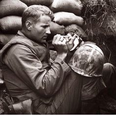 The Marine and the Kitten