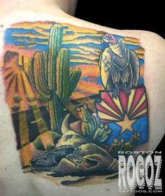 University of arizona arizona wildcats and arizona on for Sacred art tattoo tucson