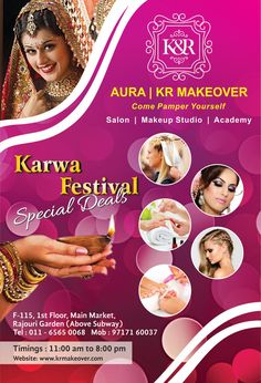 #Special Offers for #Diwali & #KarwaChauth!! Avail Pamper Packages launched by KR Makeover!! We are offering customised #beautypackages at discounted prices on this festive season at our Delhi Studio - F-115, 1st floor, main market, Rajouri Garden. Above subway, New Delhi, India!! #facial #haircut #manicure #pedicure #waxing #threading #Bleach #Hairspa #HairWash #HairStyling #BeautyServices #KR_Makeover #MUA #Salon #Offers #Festival #Makeup #makeupArtists #delhi