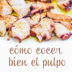 Shrimp Recipes, Mexican Food Recipes, Ethnic Recipes, Octopus Recipes, Spanish Food, Antipasto, Cooking Tips, Tapas, Delish