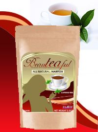 "BEAUTEAFUL TEA: Before starting a hair journey, it is important to detox the body and this tea does just that- without any side effects. This ""hairtox"" tea was created to rid the body of toxins by using carefully selected herbs. This process cleanses and prepares the body to properly absorb the neccessary nutrients for healthy hair growth......making you beauTEAful- one cup at a time! Get yours today: http://90dayhairgrowjourney.myflowindustry.com/"
