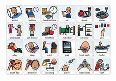 Free Boardmaker Picture Schedules   Boardmaker Home Activities: