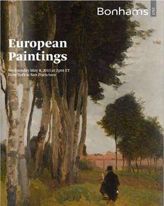 Bonhams, European Paintings, New York (20499)   8 May 2013 http://www.bonhams.com/auctions/20499/