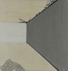 Julie Davidow's archiTECTONIC painting