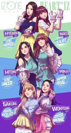 Kpop Girl Groups, Korean Girl Groups, Kpop Girls, Fandom, Namjin, K Pop, Chibi, Adventure Time, Vkook