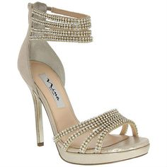 c73b36bebb7f Nina FERGIE TAUPE REFLECTIVE SUEDETTE by Nina Shoes High Heels For Prom