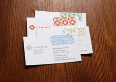 Business cards by Elements LLC—check out 13 other best business cards in the biz