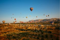 12 Badass Adventures for Your Next Great Escape | Hot Air Ballooning in Turkey | FATHOM