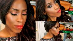 Bold Lips & Eyes Feat. Too Faced Sugar Pop Palette Collab with SamoreloveTv