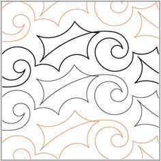 Google Image Result for http://www.sewthankful.com/media/continLineQuiltingPatterns/UrbanElementzPatriciaRitter/Lorien-Quilting/Simple-Holly-quilting-pantograph-pattern-Lorien-Quilting.jpg