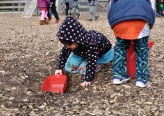 Let them play in the dirt and leaves. Montessori un-sensory bin 5 Reasons to Get Your Kids Outside in the Winter Weather Maria Montessori, Sensory Bins, Your Child, Playground, Children, Kids, You Got This, The Outsiders, Weather