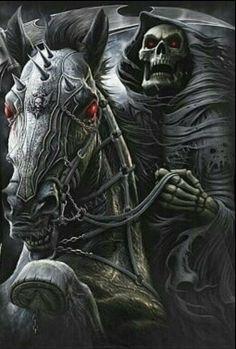 Skull & Horse