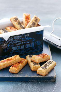 Parmesan Puffs - Easy entertaining recipe!