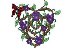 Motherhood Celtic Knot Vines by enviedesigns.deviantart.com