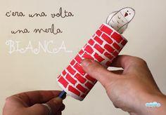 Quandofuoripiove: I giorni della merla: una fiaba invernale Craft Activities For Kids, Crafts For Kids, Diy Crafts, Reggio Children, Recycled Crafts Kids, Toilet Paper Roll, Gazza, About Me Blog, Crafty