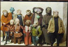 Star Wars cantina aliens