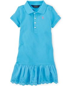 6020f6a01 Ralph Lauren Little Girls  Polo Dress   Reviews - Dresses - Kids - Macy s.  Dress OnlinePolo ShirtLittle GirlsRalph LaurenBaby ...
