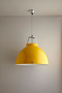 Brighten up your Monday with our yellow Titan Pendant. Find more lighting favourites from Orginal BTC