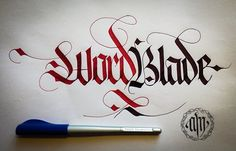 CALLIGRAPHY FRAKTUR LETTERING on Behance