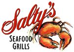 Salty's Waterfront Seafood Grills - Lobster and Shrimp Stuffed Salmon