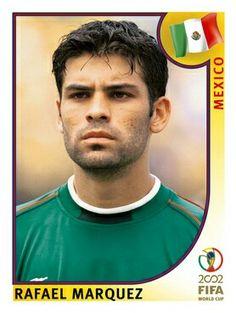 497 Rafael Marquez - Mexico - FIFA World Cup Korea/Japan 2002