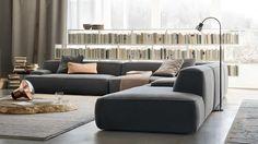 Canapé gris - 50 designs en nuances grises pour votre salon! | Pinterest