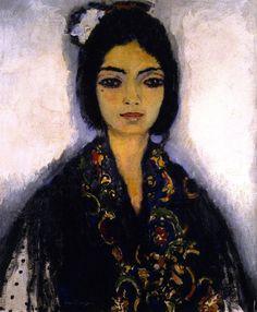 Joaquina (Sevilla). Kees Van Dongen. 1910.Oil on canvas