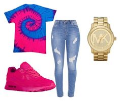 """""""Untitled #57"""" by qveenmm on Polyvore featuring NIKE and Michael Kors"""