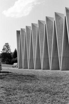 Sportausbildungszentrum Mülimatt - Studio Vacchini by carlo.fumarola, via Flickr
